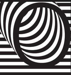 letter o design template vector image