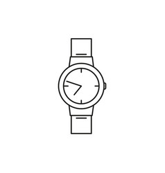 nice watch icon vector image