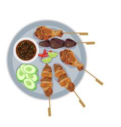 Streetfood vector