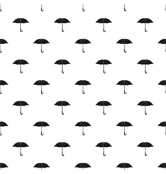 Umbrella pattern simple style vector image