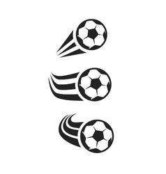 black Soccer vector image vector image