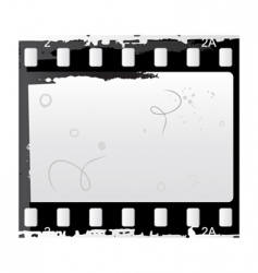 photo and video film vector image