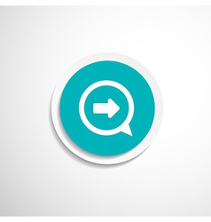 arrow next pointer cursor navigation right icon vector image