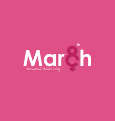 march typographical design elements international vector image vector image