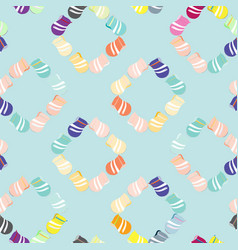seamless background with jugs vector image vector image