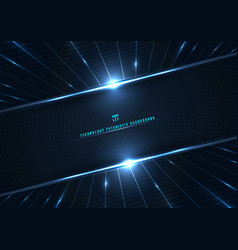 abstract technology futuristic digital concept vector image