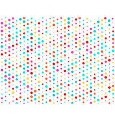 background of many colored circles of vector image