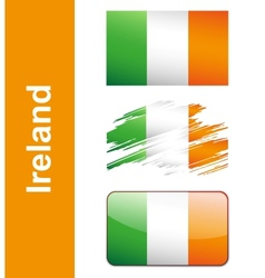 Flag ireland vector