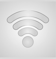 icon wi-fi vector image