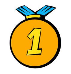 medal icon icon cartoon vector image vector image