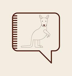 animal icon vector image vector image