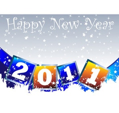 2011 New Year Clip Art vector image