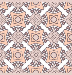 Abstract seamless pink color pattern for vector