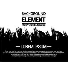 background grunge business vector image