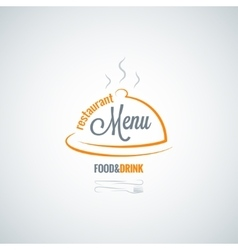 Food and drink restaurant menu background vector