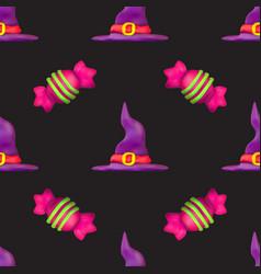handmade plasticine seamless pattern vector image