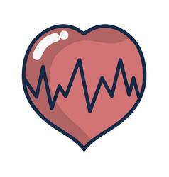Medical heartbeat to cardiac rhythm vector