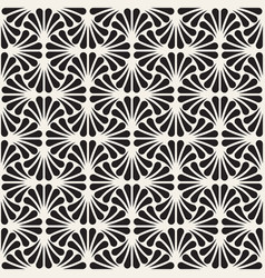 Seamless pattern repeating geometric design vector