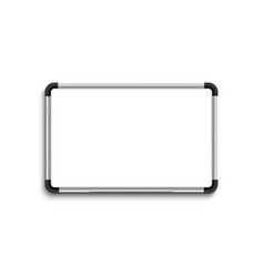 white marker board whiteboard white board with vector image