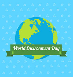 word environment day with and the word vector image
