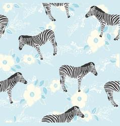 zebra pattern animal vector image