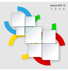 colorful design vector image vector image