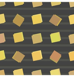 Square seamless pattern vector image vector image