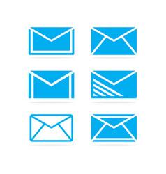 set e-mail vector image