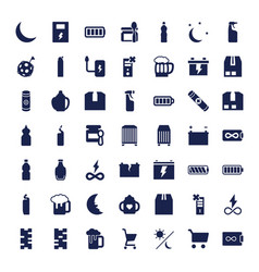49 full icons vector