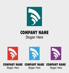 Abstract Creative Logo Development vector