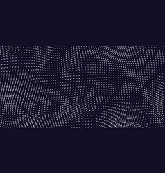 blue field visualization of forces vector image