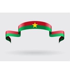 Burkina Faso flag background vector image