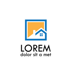 Home icon logo vector