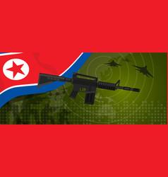 north korea or democratic people s republic vector image