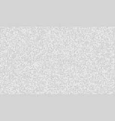 pixel neutral gray noise test tv screen digital vector image