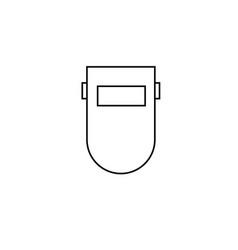 Welder icon vector