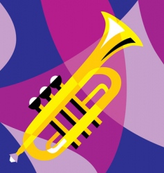 horn vector image vector image