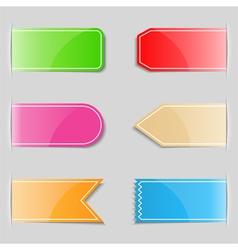 tabs vector image