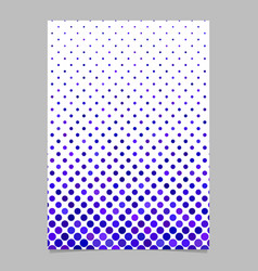 Abstract geometric circle pattern background page vector