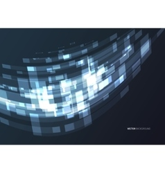 Abstract geometric technology design element vector image