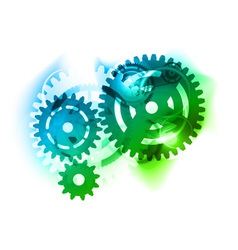 Cogwheel background vector