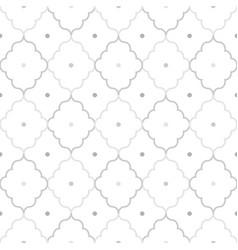 Decorative seamless ornamental geometric pattern vector