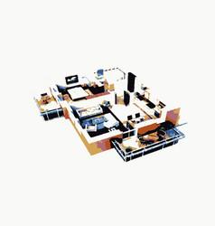 homeplansxv vector image