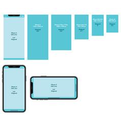 Iphonex display vector