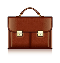 Object briefcase vector