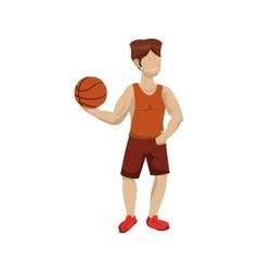 Player icon Basketball design graphic vector image