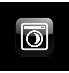sleep pc icon vector image
