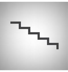 staircase icon vector image