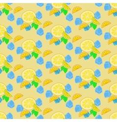 Lemonade summer background vector image