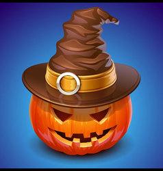 Pumpkin jack vector